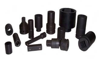 "1/2""DR 17MM ALLOY SOCKET WITH SLEEVE}"