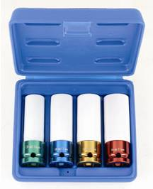 "1/2"" DR 3 PIECE ALLOY SOCKET SET.}"